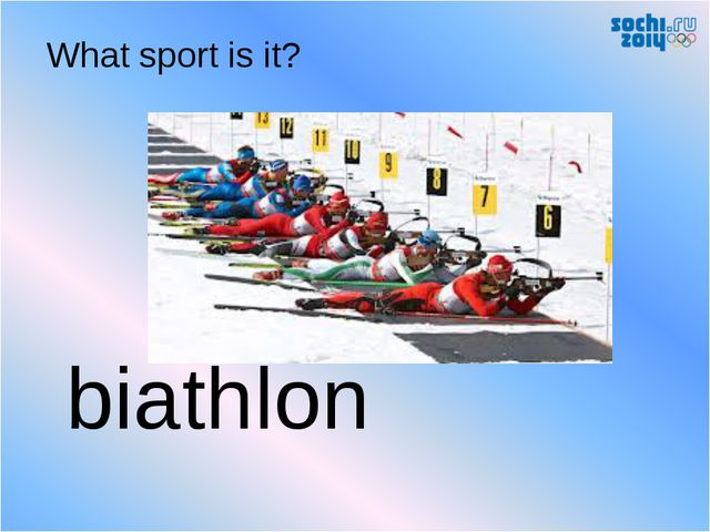 biathlon What sport is it?