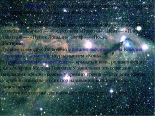 Пега́с—созвездиесеверного полушария звёздного неба. Содержит 166 звёзд, ви