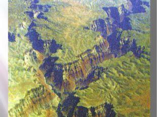 12. Какие формы рельефа изображены на космоснимке?