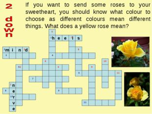If you want to send some roses to your sweetheart, you should know what colou