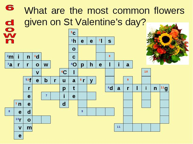 What are the most common flowers given on St Valentine's day?