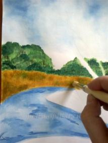 Рисование манной крупой. Мастер-класс