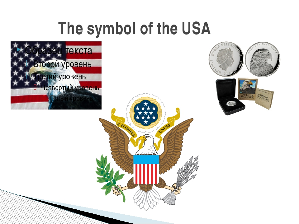 The symbol of the USA