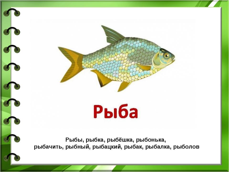 Рыбы, рыбка, рыбёшка, рыбонька, рыбачить, рыбный, рыбацкий, рыбак, рыбалка, р...