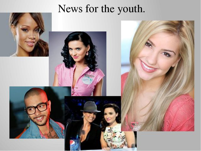 News for the youth.