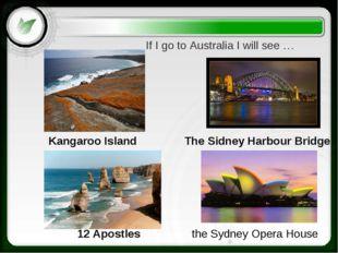 the Sydney Opera House 12 Apostles Kangaroo Island The Sidney Harbour Bridge