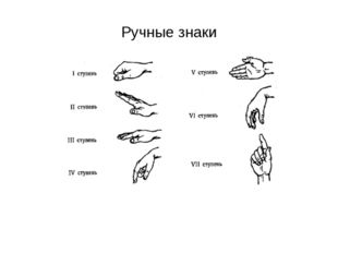 Ручные знаки