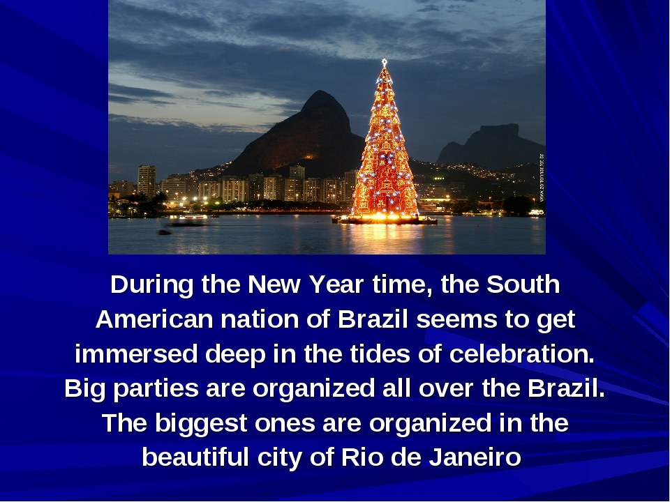 During the New Year time, the South American nation of Brazil seems to get im...