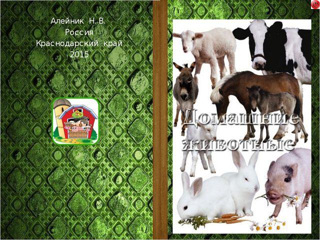 Алейник Наталья Владимировна Воспитатель детского сада, МБДОУ «ДС № 8 «Теремо...