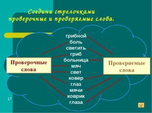 Соедини стрелочками проверочные и проверяемые слова. Проверочные слова Провер