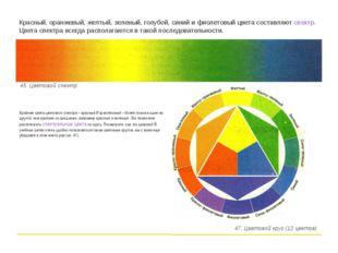 Крайние цвета цветового спектра – красный И фиолетовый – более похожи один на