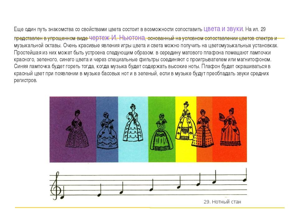Еще один путь знакомства со свойствами цвета состоит в возможности сопоставит...
