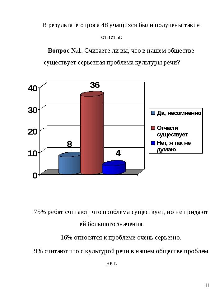 В результате опроса 48 учащихся были получены такие ответы: Вопрос №1. Считае...