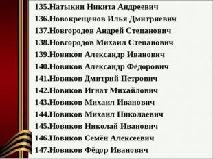 Натыкин Никита Андреевич Новокрещенов Илья Дмитриевич Новгородов Андрей Степа