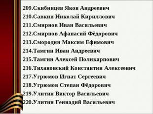 Скибинцев Яков Андреевич Савкин Николай Кириллович Смирнов Иван Васильевич См