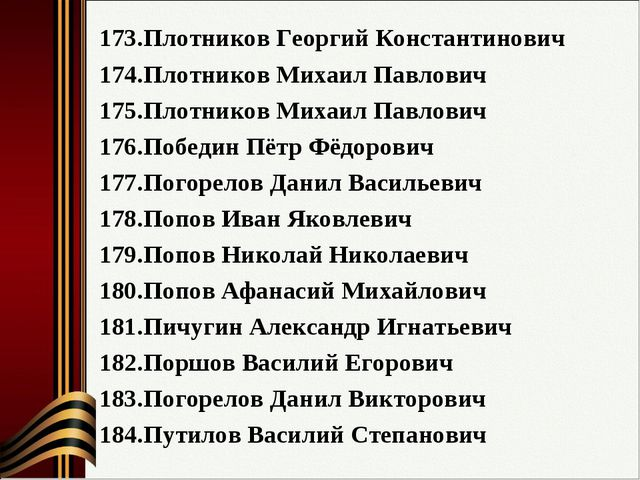 Плотников Георгий Константинович Плотников Михаил Павлович Плотников Михаил П...