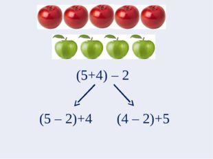 (5+4) – 2 (5 – 2)+4 (4 – 2)+5