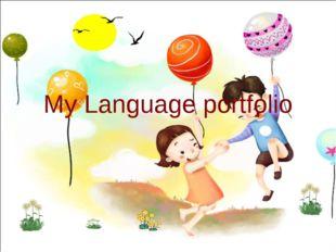 My Language portfolio