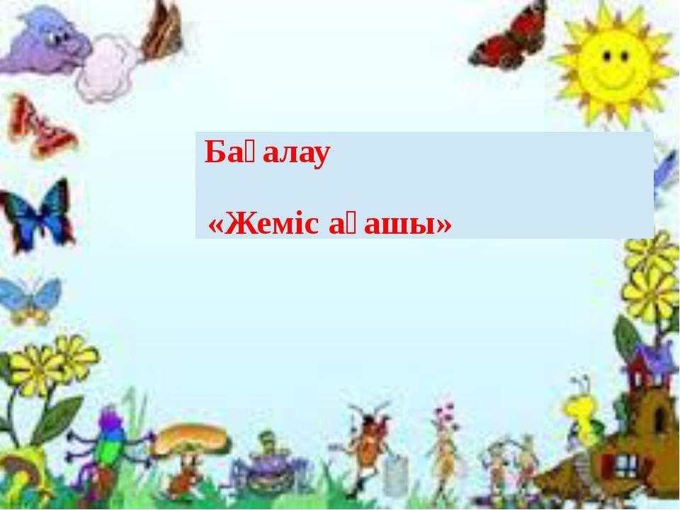 «Жеміс ағашы» Бағалау