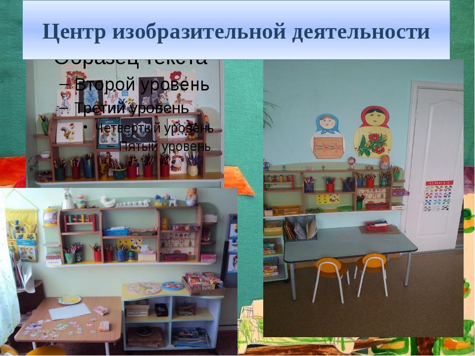 Центр изобразительной деятельности