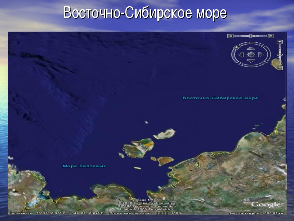Восточно-Сибирское море