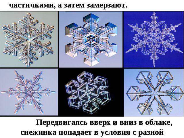 Оказывается, снежинка рождается, когда водяные пары в облаках соединяются с...