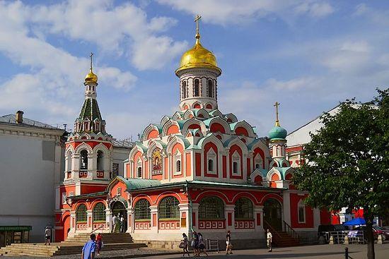 Казанский собор, Москва. Фото: Евгений Измайлов / Соборы.Ru