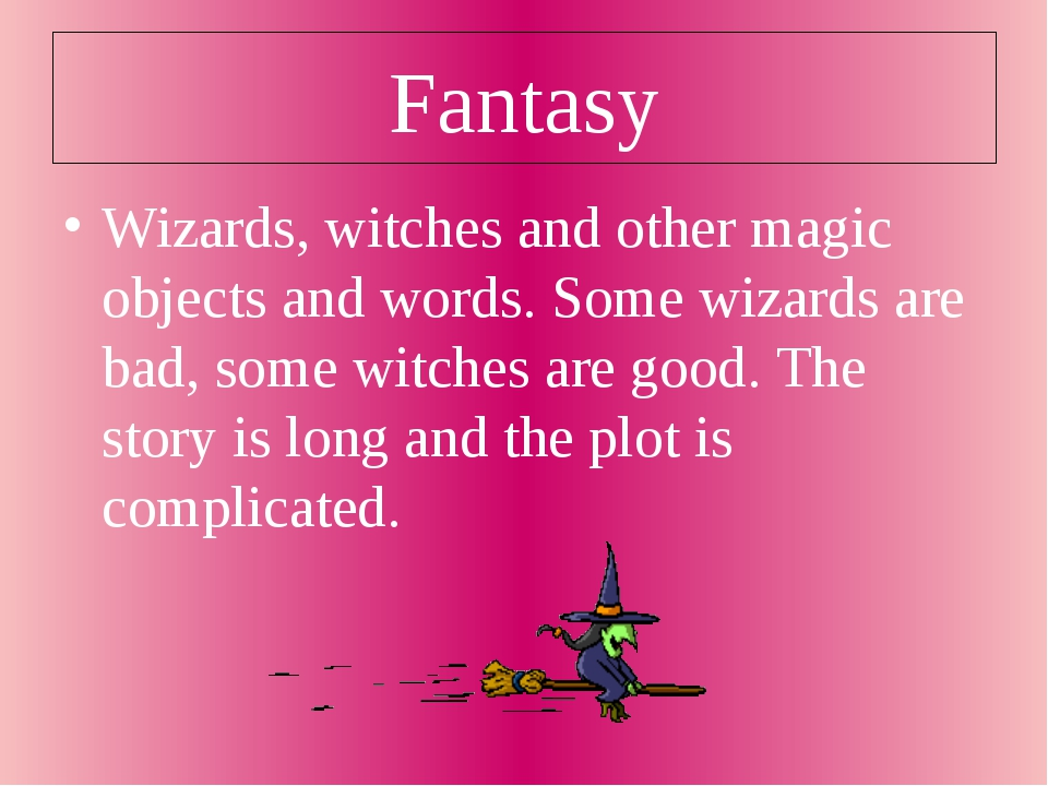 Fantasy Wizards, witches and other magic objects and words. Some wizards are...