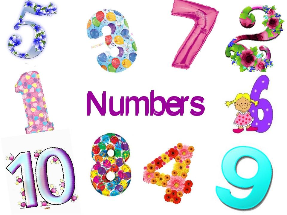 Numbers Numbers