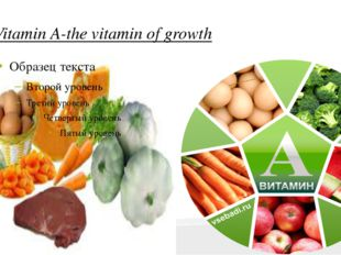 Vitamin A-the vitamin of growth