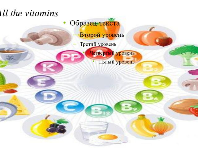All the vitamins