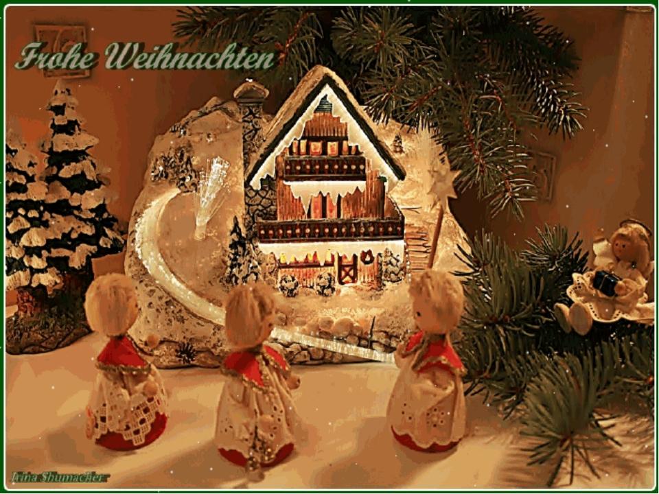 Поздравительную открытку, открытки с рождеством на немецком фото