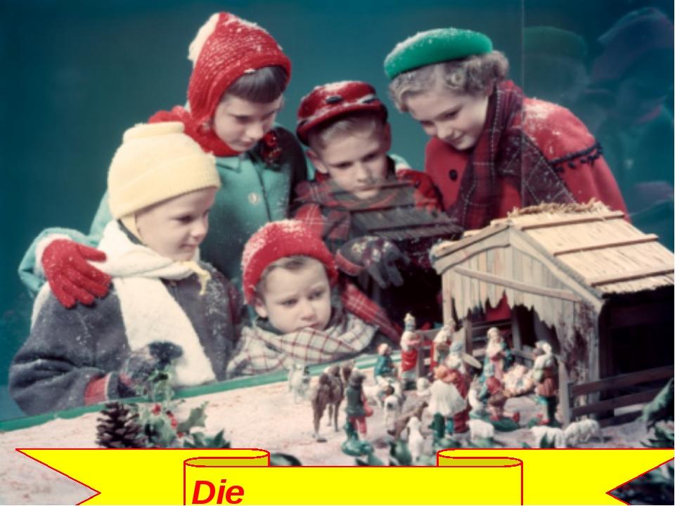 Die Weihnachtskrippe