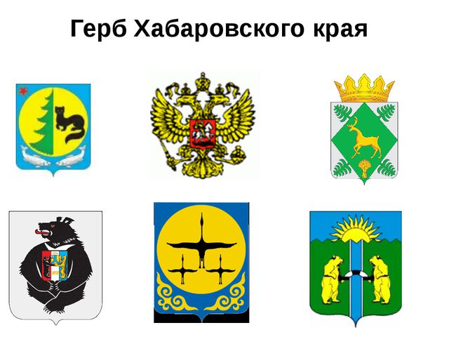 Герб Хабаровского края