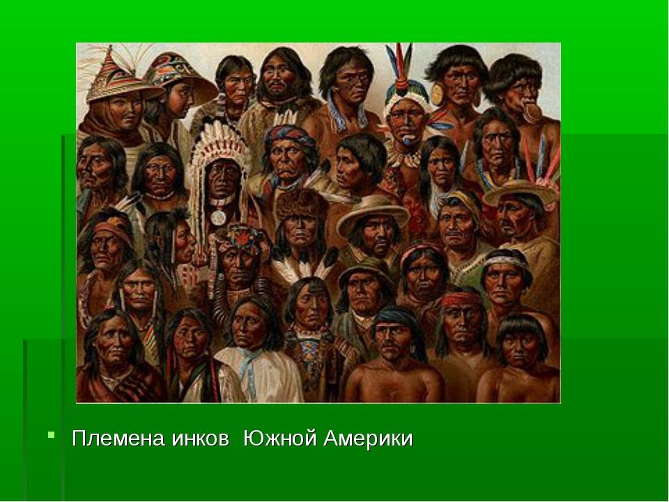 Племена инков Южной Америки