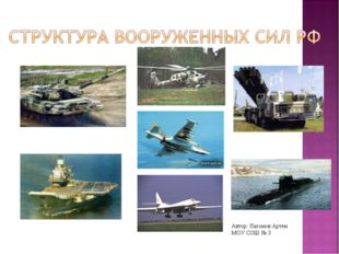Автор: Пахомов Артем МОУ СОШ № 3