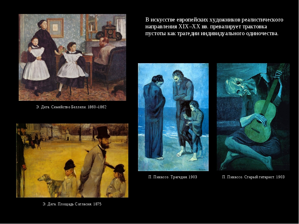 В искусстве европейских художников реалистического направления XIX–XX вв. пре...
