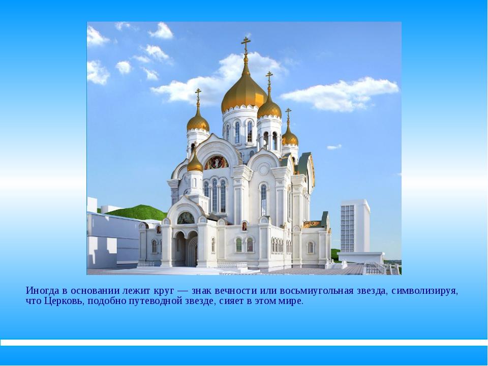 Здание храма обычно завершается сверху куполом, изображающим небо. Купол же в...