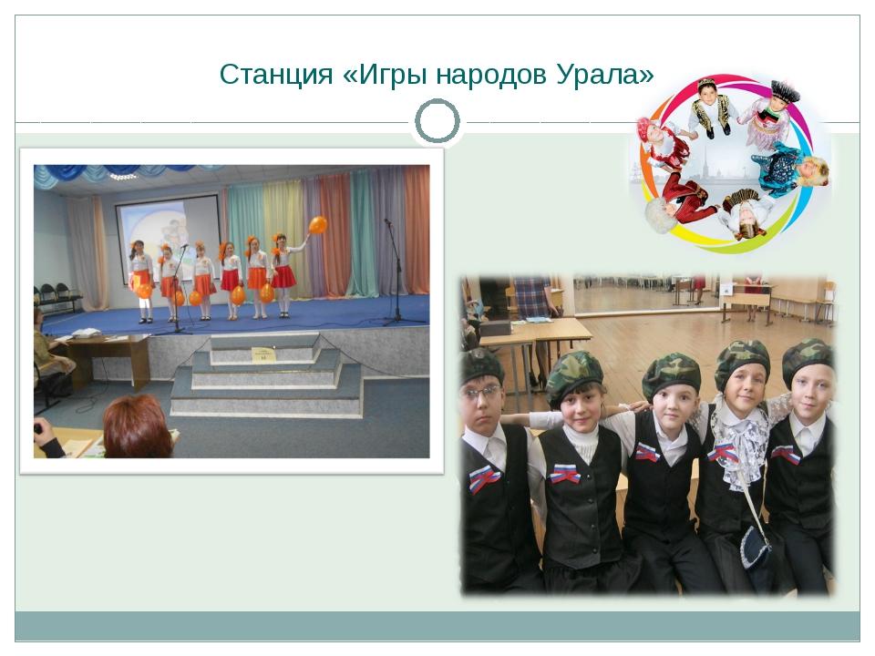 Станция «Игры народов Урала»