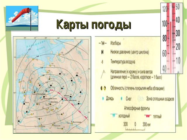 Карты погоды