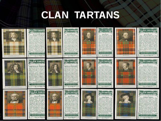 CLAN TARTANS