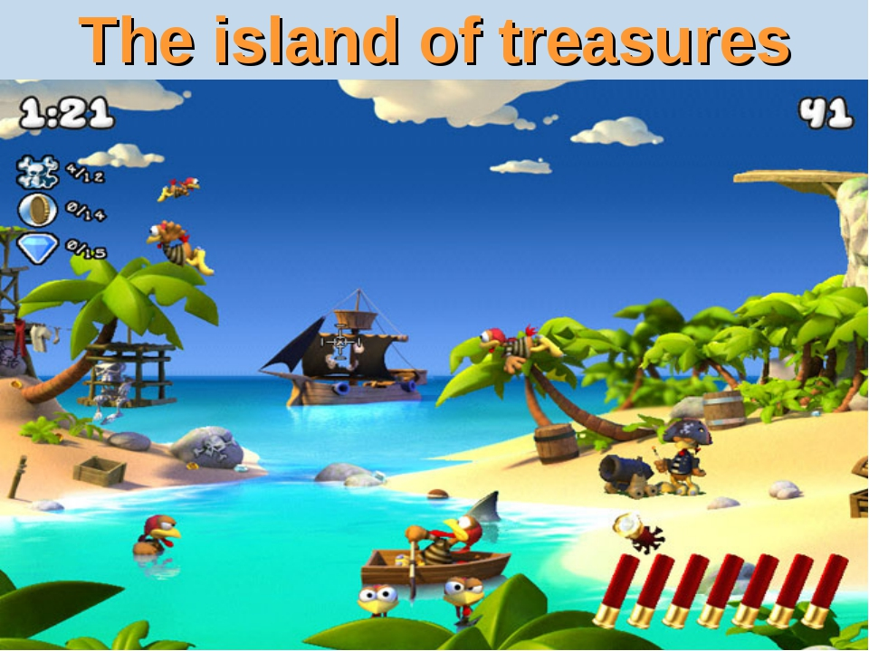 The island of treasures