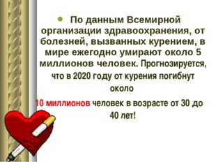 По данным Всемирной организации здравоохранения, от болезней, вызванных куре