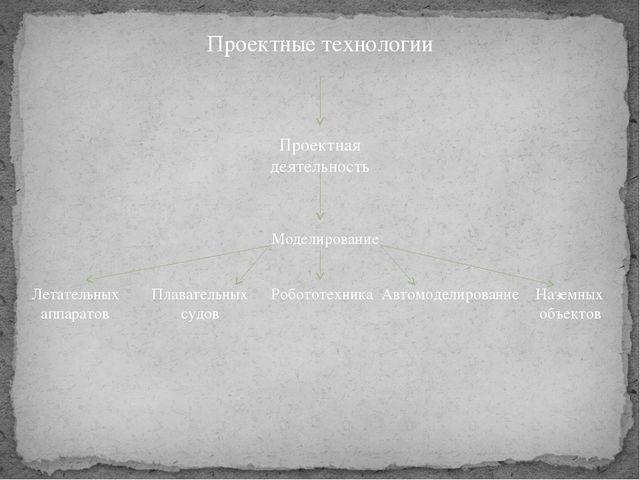 Проектные технологии Проектная деятельность Моделирование Летательных аппарат...