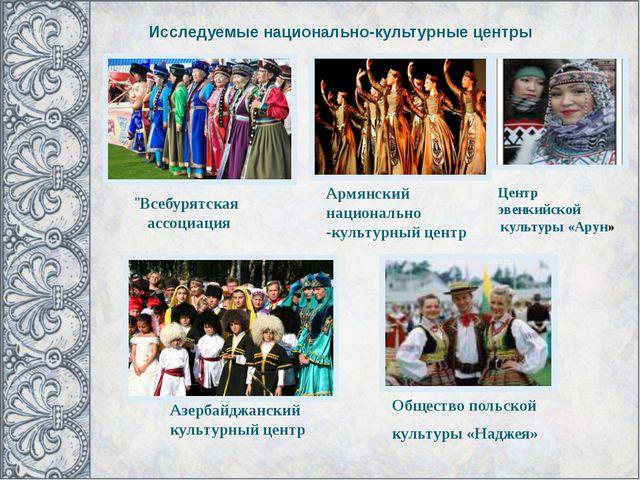 Общество польской культуры «Наджея» Армянский национально -культурный центр...