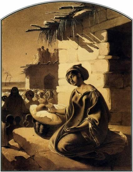 Благословіння дітей, 1856