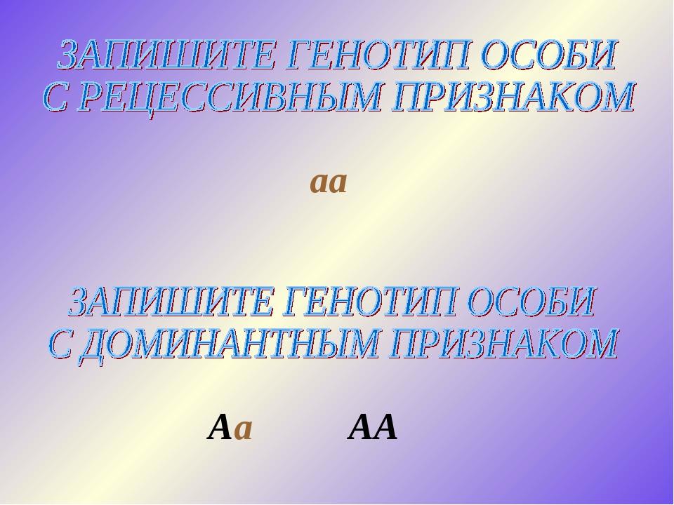 aa Aa AA