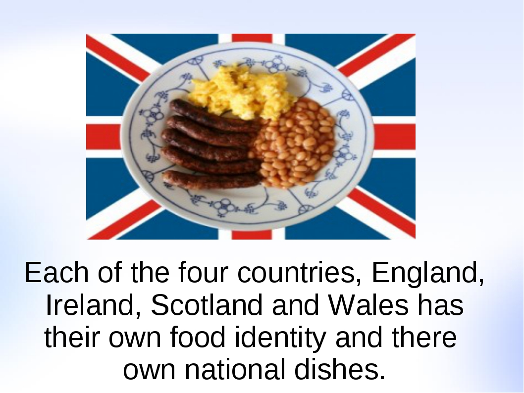 Each of the four countries, England, Ireland, Scotland and Wales has their ow...