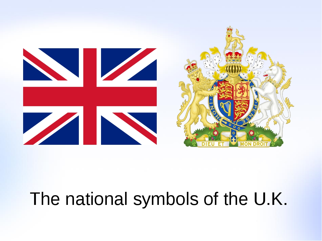The national symbols of the U.K.