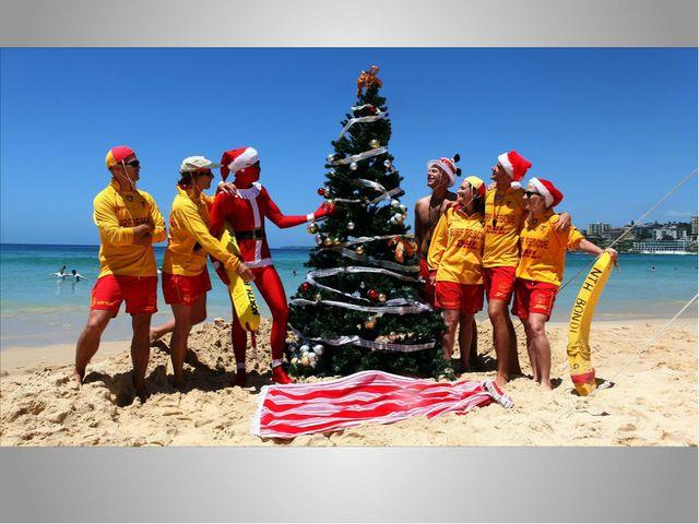 Ответьте на вопрос: «Чем Новый год в Австралии отличается от нашего в северно...